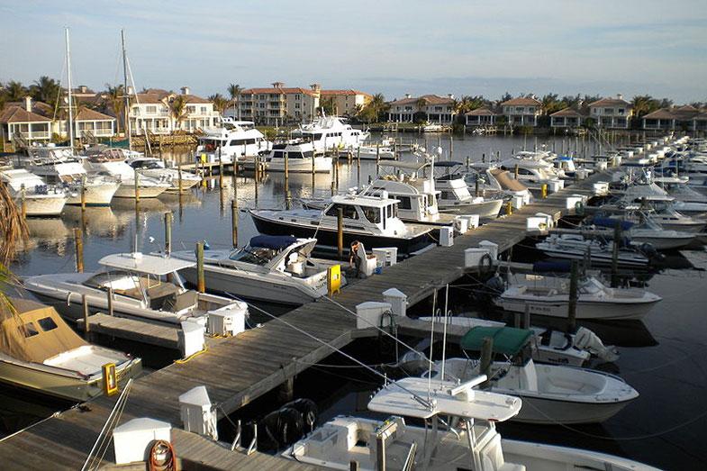 Marina in Grand Harbor, Vero Beach, Florida