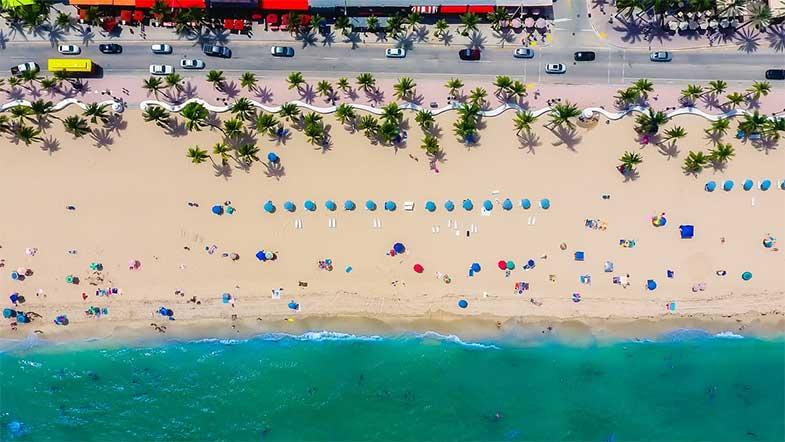 Beautiful Popular Florida Beach