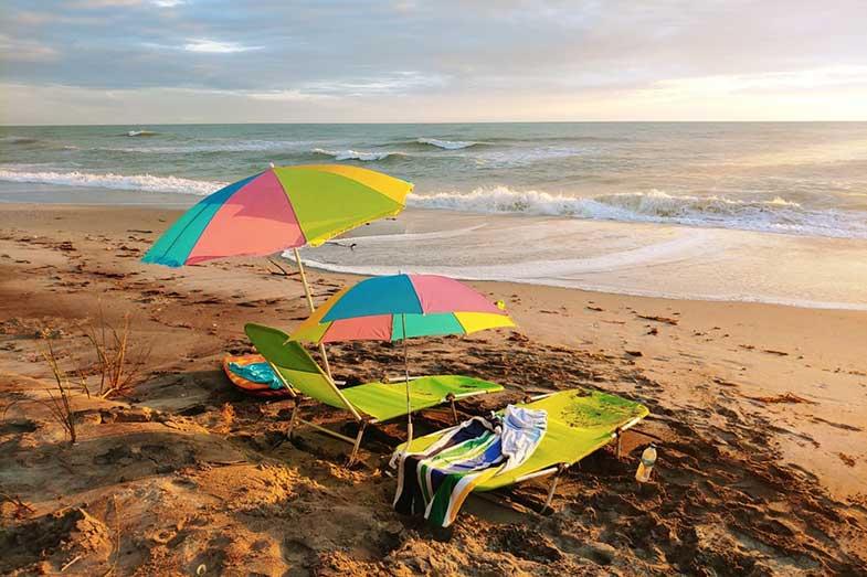 Florida Beach Umbrella