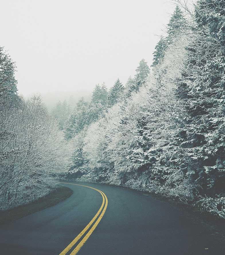 Blue Ridge Parkway, Asheville, USA
