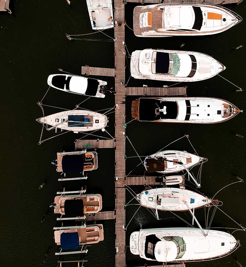 Boats in Naples, Florida