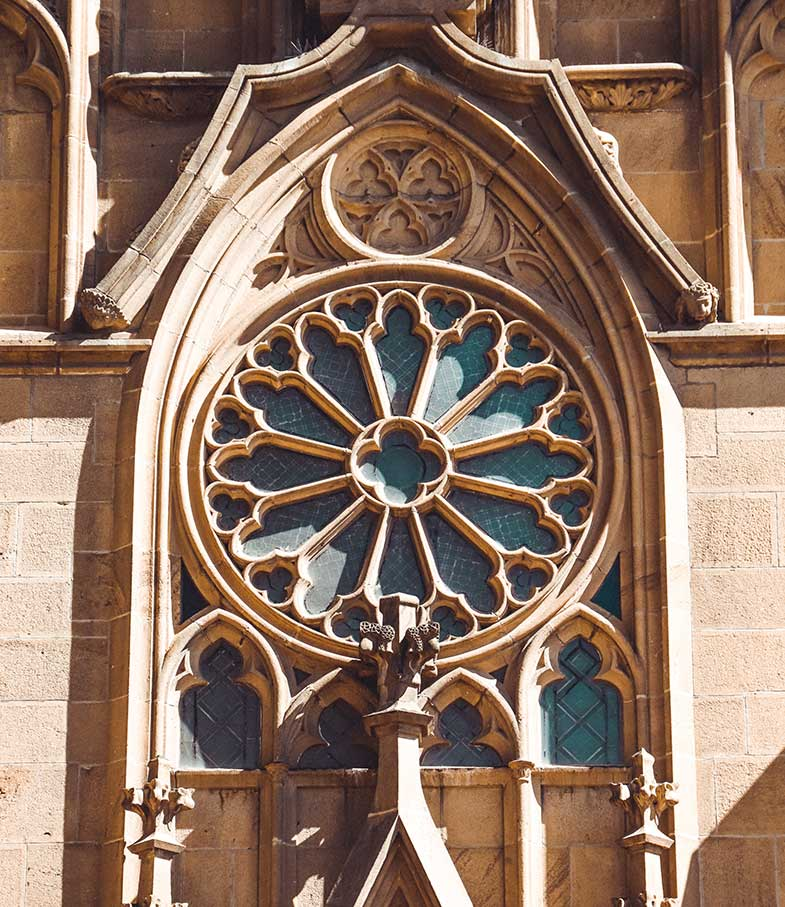 Cathedral in Sante Fe, New Mexico