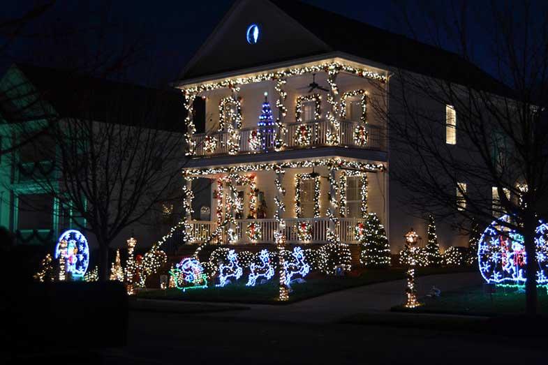 Christmas Town, USA, McAdenville, North Carolina