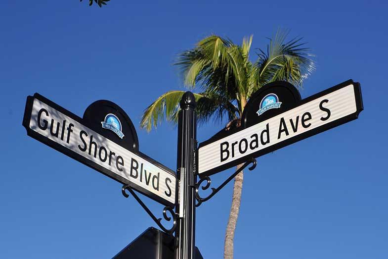 Naples, Florida, Street Sign
