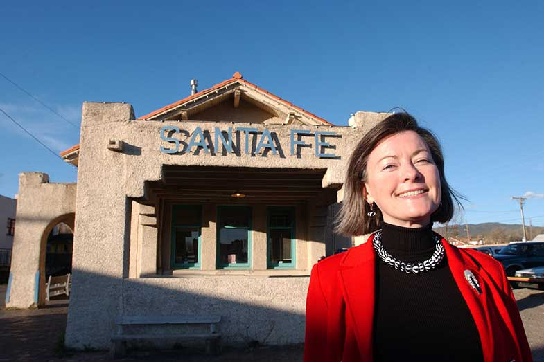 Santa Fe, New Mexico, Woman