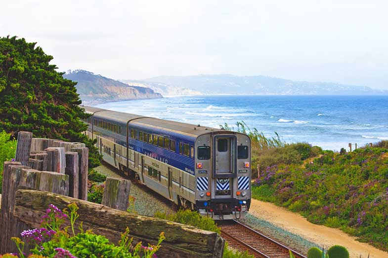 San Diego Train, USA