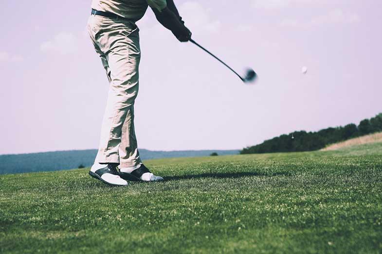 Golfer, Pitching Wedge Club