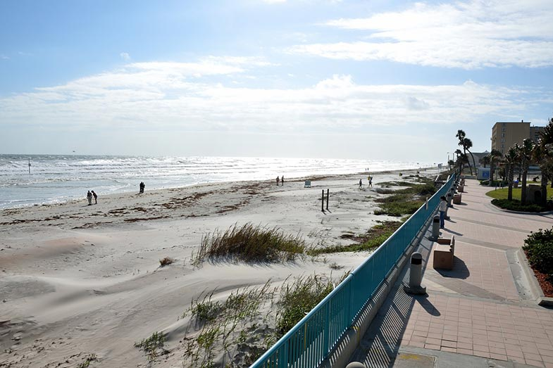 Daytona Beach, Florida, Ocean and Boardwalk