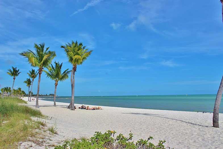 Key West, Florida, Sandy Beach
