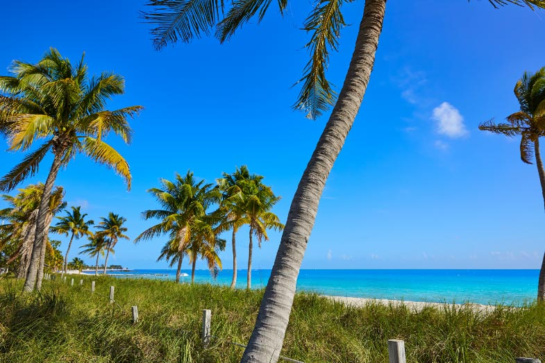 Key West Florida, Smathers Beach