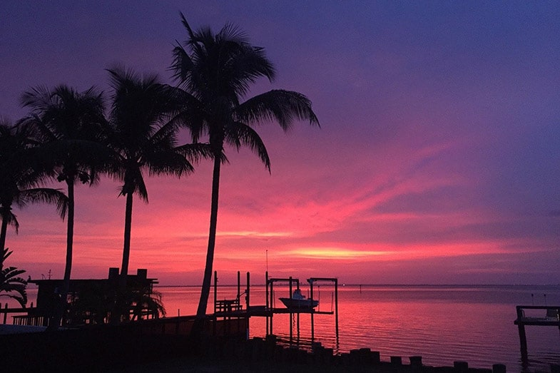 Ruskin, Florida, Sunset