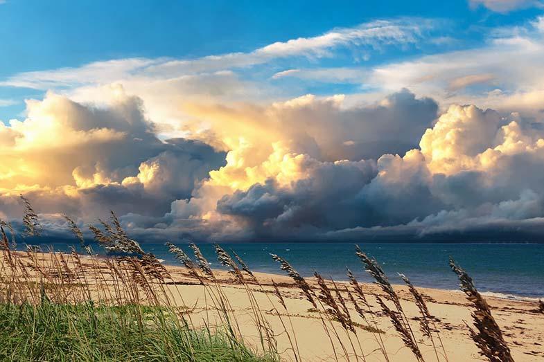 Peaceful Sunset at Vero Beach, Florida
