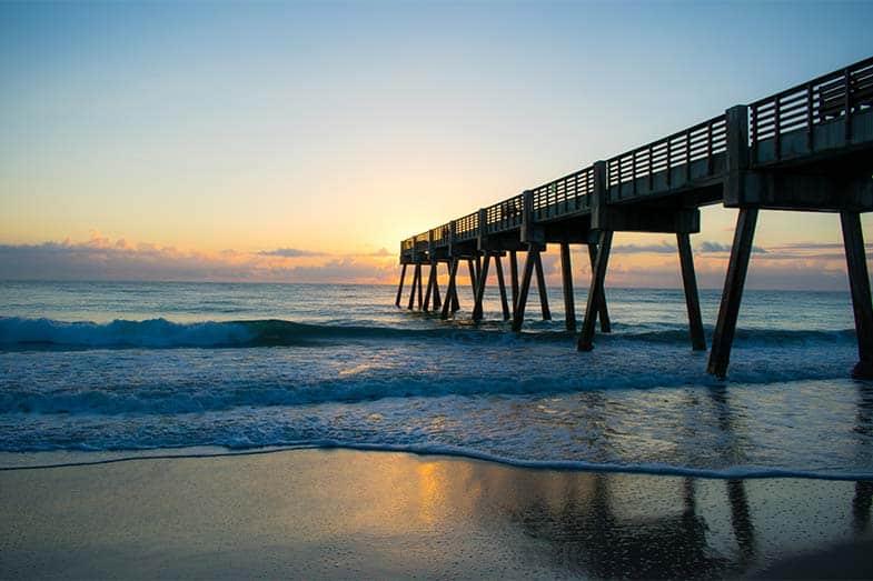 Vero Beach Pier Sunrise