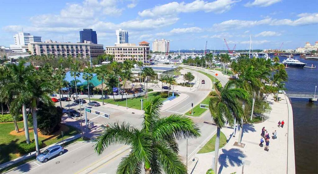 West Palm Beach, Florida, Downtown
