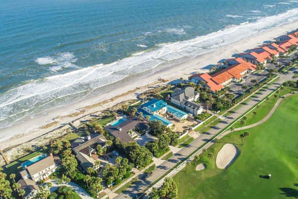 Florida Home Along the Coast