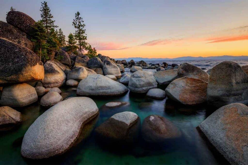 Lake Tahoe Sunset, Nevada