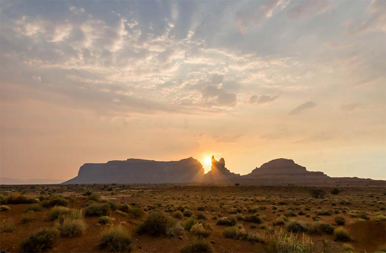 Mountain Rock in Arizona Desert