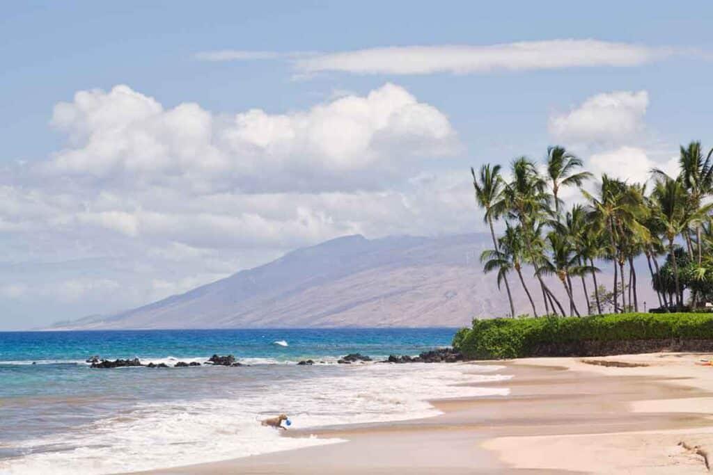 Palauea Beach in South Maui, Hawaii