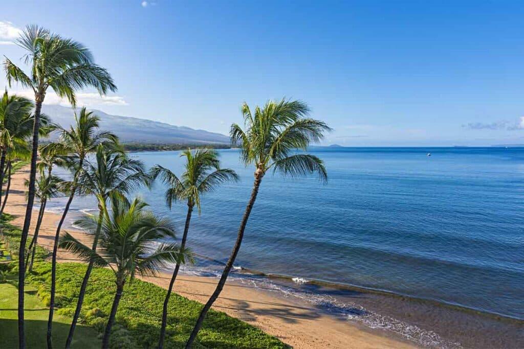 Sugar Beach in Kihei, Maui, Hawaii