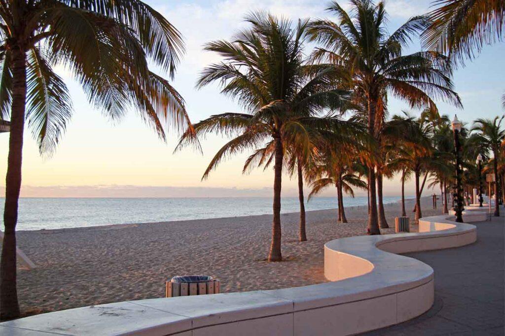 Sunrise in Fort Lauderdale, Florida
