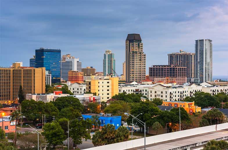 St. Petersburg, Florida, Downtown Skyline