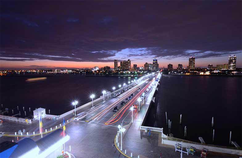 St. Petersburg, Florida, at Night